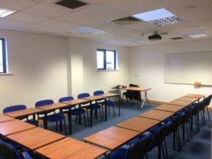 Advance Drive training rooms and meeting rooms for hire in Ballybane Galway