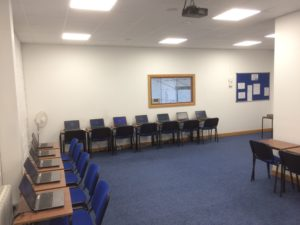 Training room and meeting rooms for hire in Ballybane, Galway